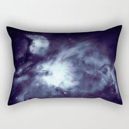 Orion Nebula Deepest Blue Rectangular Pillow