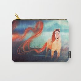 Horse - Fire - Color Carry-All Pouch