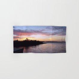 Sunset on Kentucky Lake Hand & Bath Towel