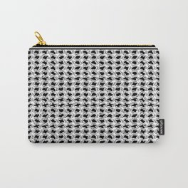 Black and White Wiggles Carry-All Pouch