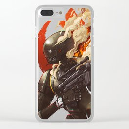 The Resistance Droid Clear iPhone Case