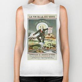 Vintage poster - La Finn de la Fee Verte Biker Tank