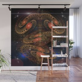 Sacred Spaces Optical Illusion Abstract Wall Mural