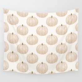White Pumpkin Wall Tapestry