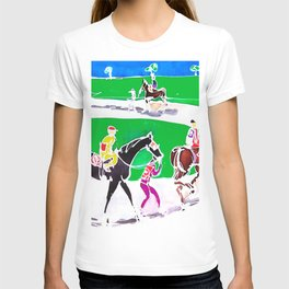 At the Races           by Kay Lipton T-shirt