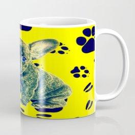 Frenchie Paw Print Coffee Mug