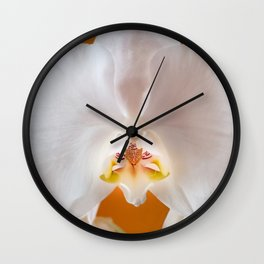 Orchid Tiger Wall Clock