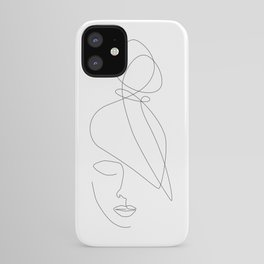 Hairstyle Lines iPhone Case