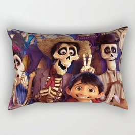 Coco And Friends Rectangular Pillow