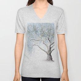 Cool Breeze Tree Unisex V-Neck