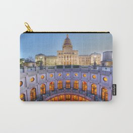 Texas State Capitol HDR Photo Carry-All Pouch