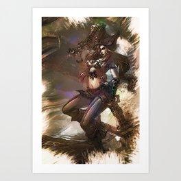 League of Legends MISS FORTUNE Art Print