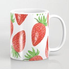 Strawberry Neck Gator Strawberries Coffee Mug