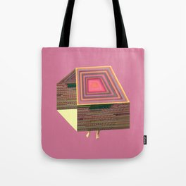 Pink Virtual House Tote Bag