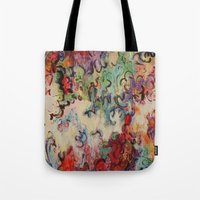 baroque Tote Bags featuring Baroque by Gertrude Steenbeek