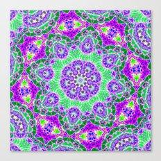 Plant Molecule  Canvas Print