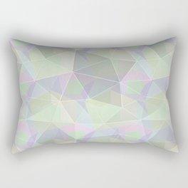 Polygonal pattern. Rectangular Pillow