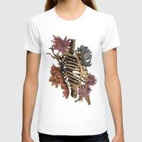 bones T-shirts featuring Bones by Zé Pereira Illustration