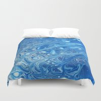 cloud Duvet Covers featuring Cloud by Justin Similey