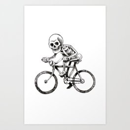 They see me rollin Art Print