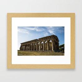 paestum Framed Art Print