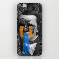 stephen king iPhone & iPod Skins featuring Stephen by DIVIDUS
