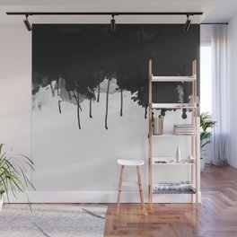 Spilled Ink Wall Mural