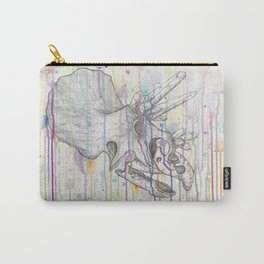 Crystal Triceratops Carry-All Pouch
