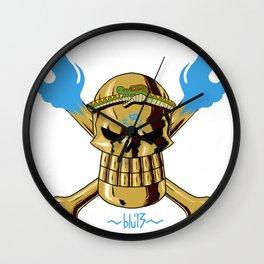 Jolly Wrecker Wall Clock