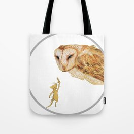 Brave Little Warrior Tote Bag