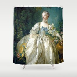 Madame Bergeret Shower Curtain