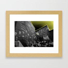 Hip hop Chess Wall Framed Art Print