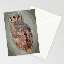 Overly Owl Stationery Cards