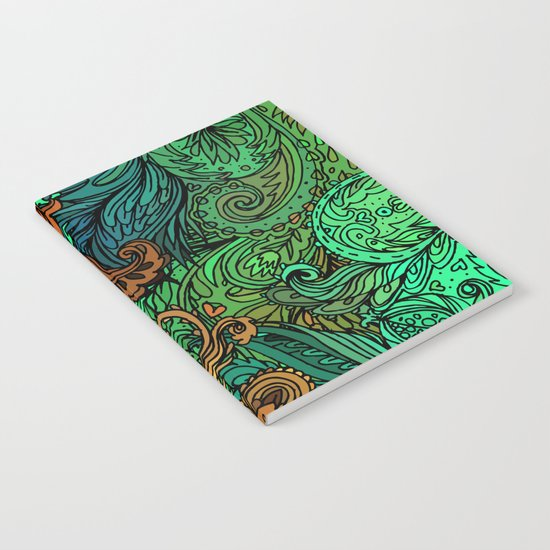 Indian Pattern 02 Notebook