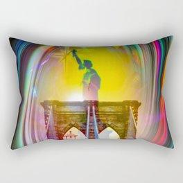 New York NYC Rectangular Pillow