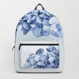 Hydrangea Blue 2 Backpack