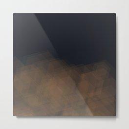 hexagradient Metal Print