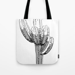 Wilted Cactus Tote Bag
