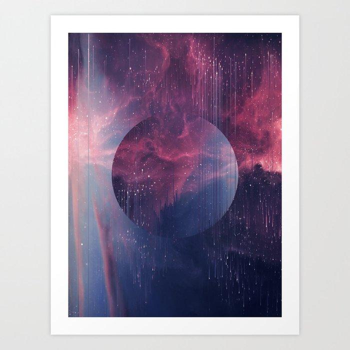 Explore the Space Art Print