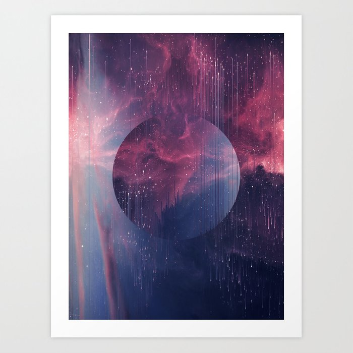 Explore the Space Art Print