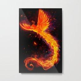 Immortal Flames t-shirt edit Metal Print