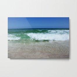An Ocean Wave Break Metal Print