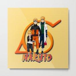 Boruto Naruto Minato Metal Print