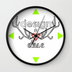 design is chic Wall Clock