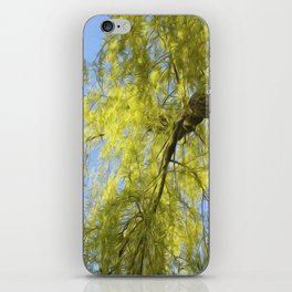 Whispering Willow iPhone Skin