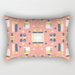 Modern Elements Pattern Art Rectangular Pillow