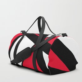 Apple Red Geometric Star Abstract Duffle Bag