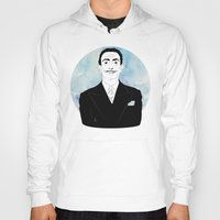 dali Hoodies featuring DALI by Adam Churcher