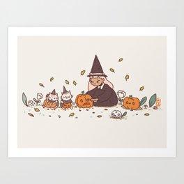 It's the season! Art Print