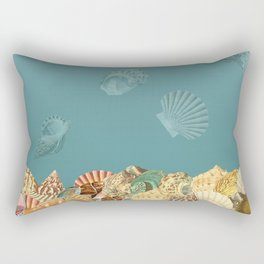 Sea shells Composition 2 Rectangular Pillow